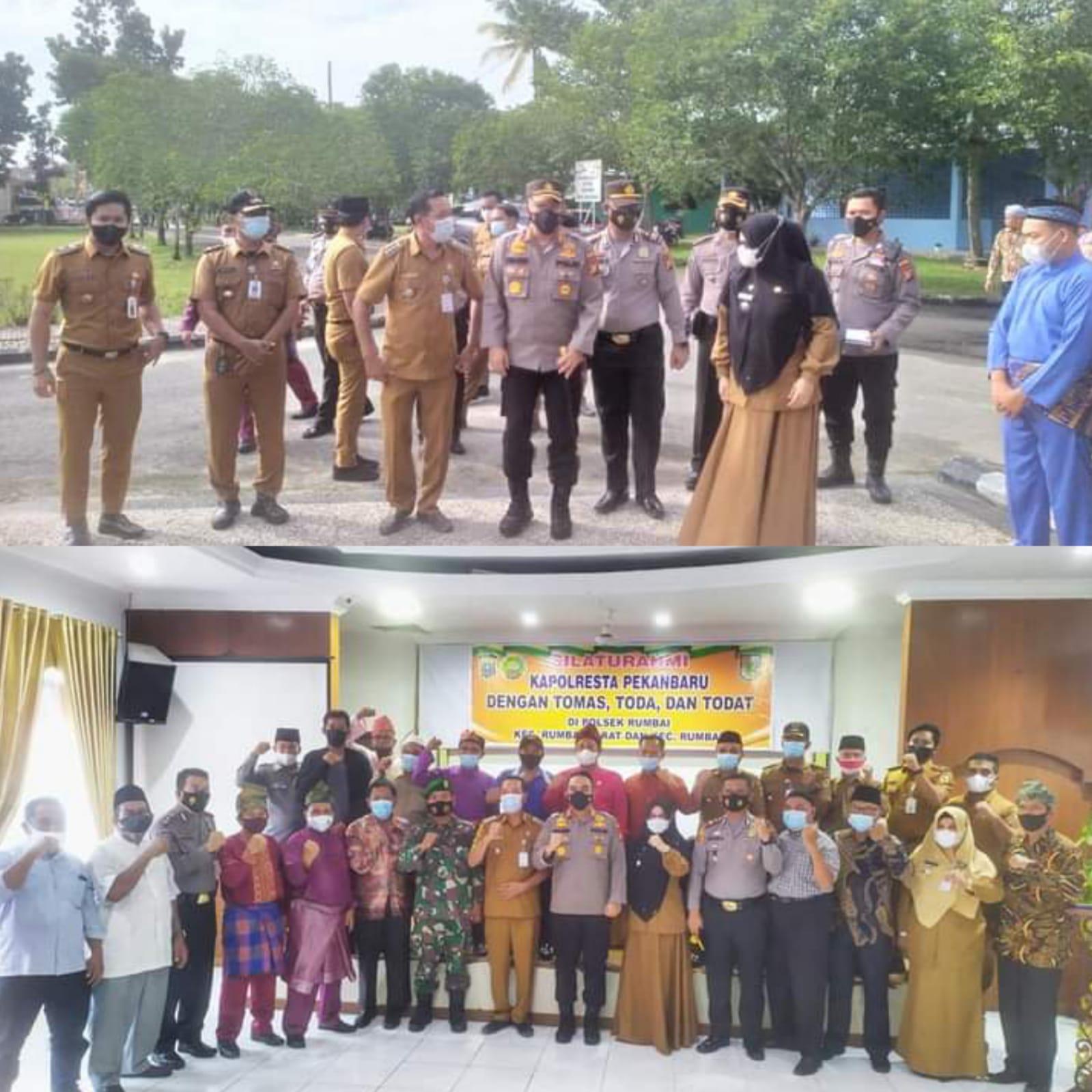 Silaturahmi, Kapolresta Ajak Tokoh Masyarakat Jaga Harkamtibmas