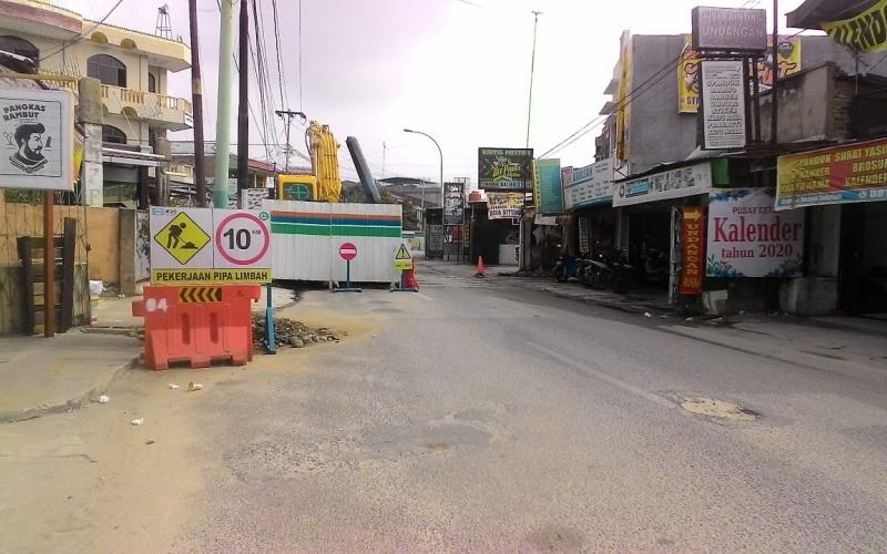 Dinas PUPR Akui Sering Terjadi Kecelakaan Ruas Jalan Bekas Galian IPAL